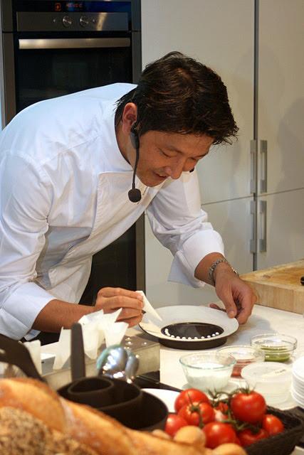 Chef Tomonori Danzaki of Joel Robuchon Restaurant