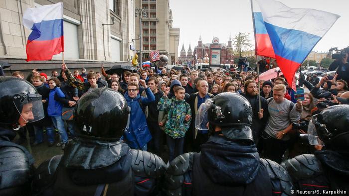 Russland Pro-Nawalny- Demo   Moskau (Reuters/S. Karpukhin)