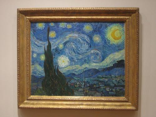 The Starry Night, June 1889, Vincent van Gogh _7454