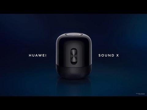 外型像 HomePod!華為推出 HUAWEI Sound X 無線音響