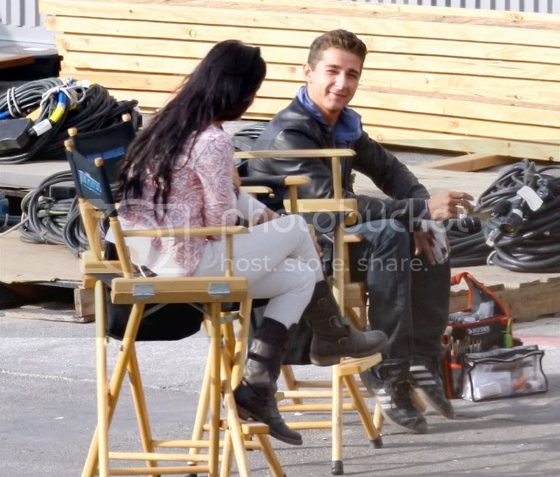 Transformers 2 Megan Fox Motorcycle. to look at Megan Fox to