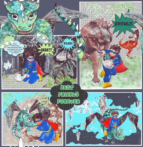 "Be my hero""Dragon rescue"""