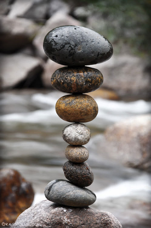 Life is a balancing act. Some people do it better than others.