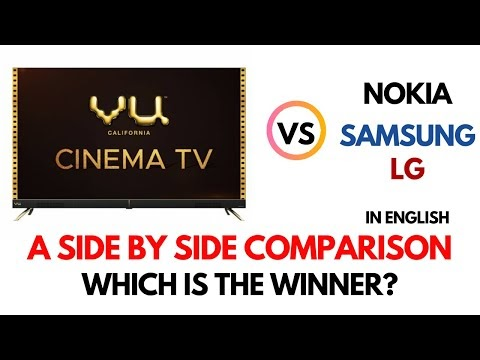 Vu Cinema TV Vs Samsung NU7090 Vs LG UM7300PTA Vs Nokia TV|Which TV is The Best In Budget Category?