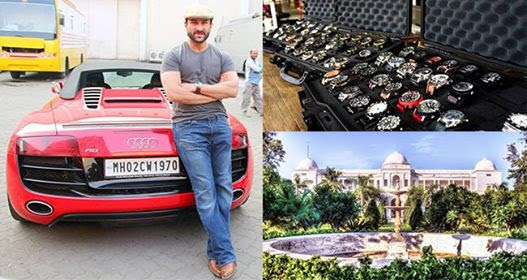 10 Expensive Things Owned By The Nawab Of Pataudi, Saif Ali Khan
