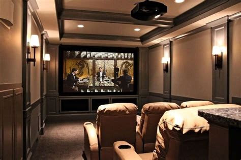 home theater   narrow room theater room ideas