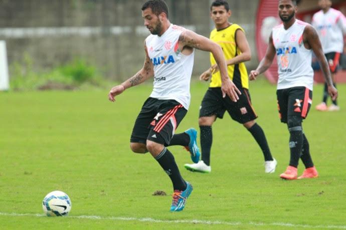 Canteiros treino Flamengo (Foto: Site Oficial do Flamengo)