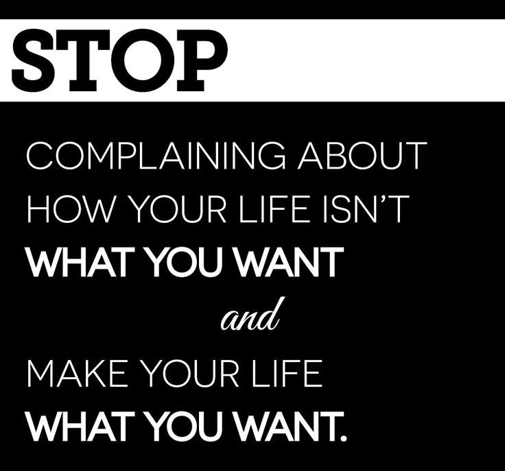 Stop Complaining Quote Quote Number 680770 Picture Quotes