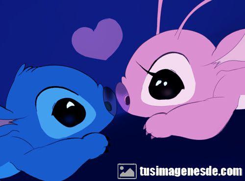 Stitch Dibujos De Amor Www Imagenesmy Com