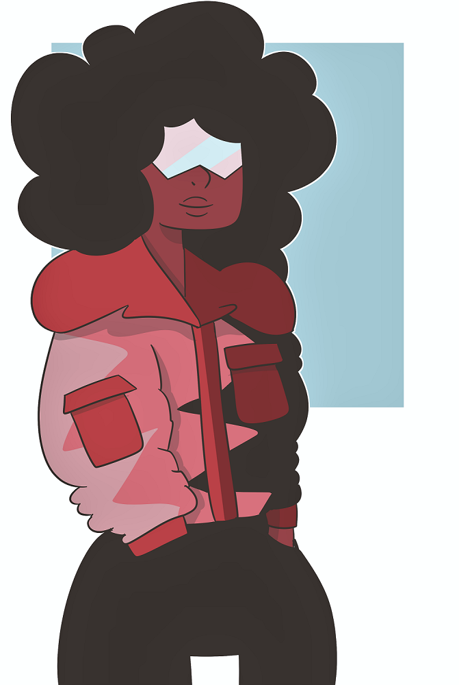 i can't believe garnet invented fashion