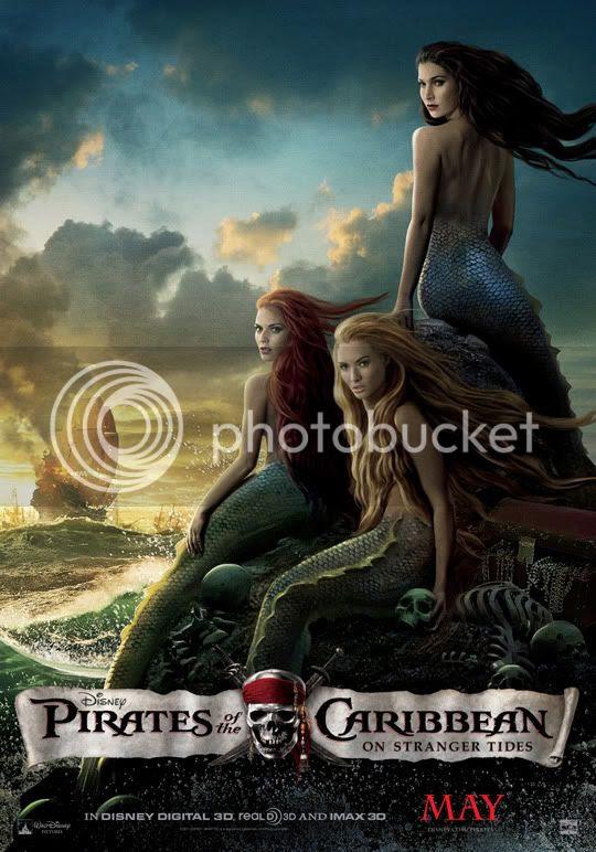 Mermaids Pirates Caribbean 4 Stranger Tides
