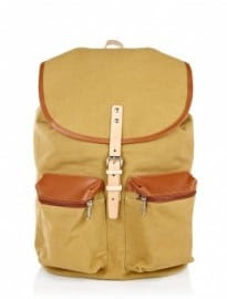 Sandqvist Stone Canvas Roald Pocket Backpack