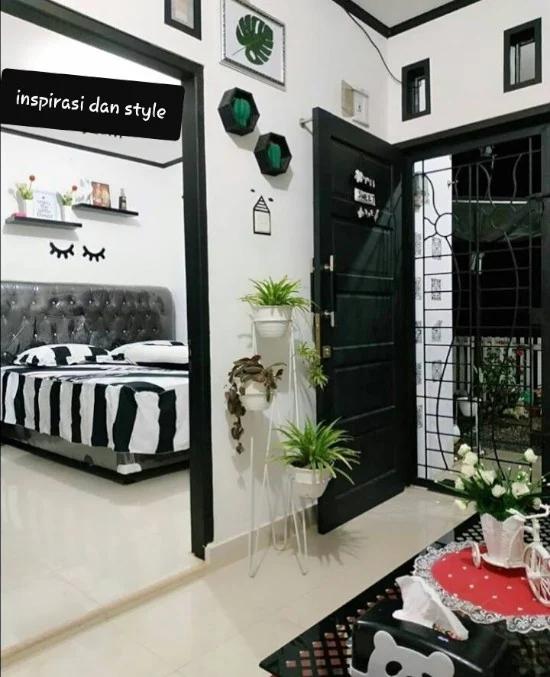 Denah Ruang Tamu Minimalis Ukuran 3x4 | Ide Rumah Minimalis