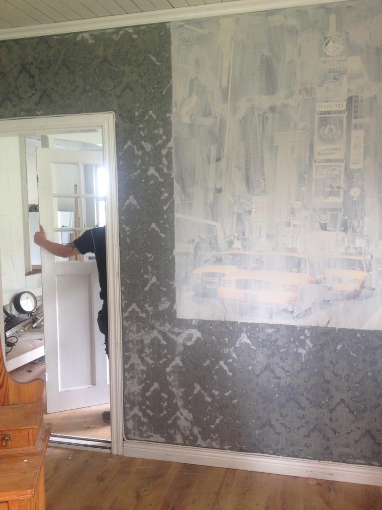 kalklitir, före efter bilder, renovering, 1920 tals hus
