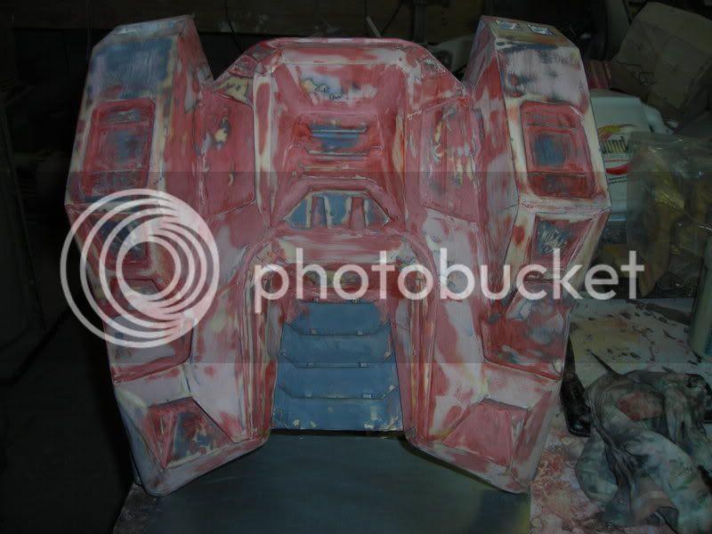 Fairing back plate