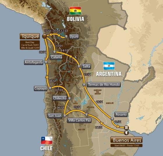 Villazón, Atocha y Tupiza al margen del Dakar 2015