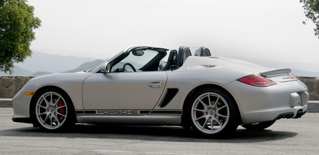 First Drive 2011 Porsche Boxster Spyder Drops A Weight
