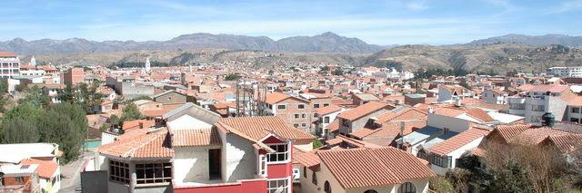 Ville de Sucre Bolivie