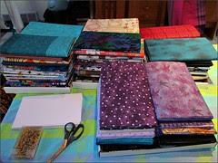Fabric Folding Project