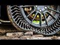 Michelin y GM desarrollan un neumático indestructible