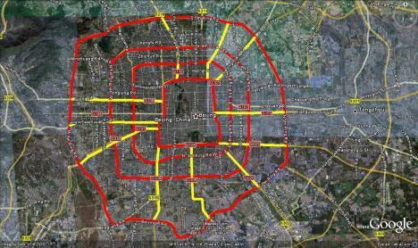 Traffic Congestion in Beijing