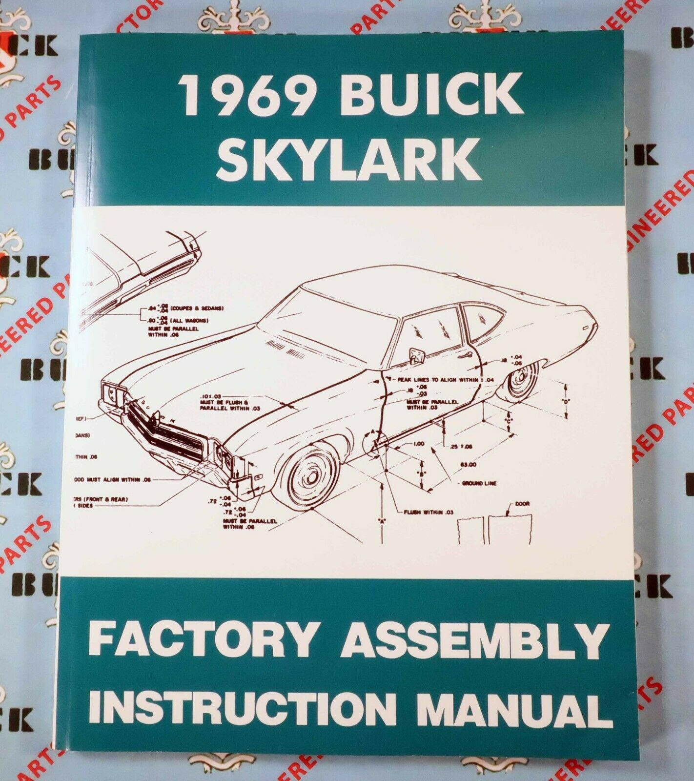 Wiring Diagram Manual 1969 B A B Body Cars 908 369 3666
