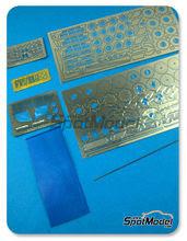 Fotograbados 1/24 Hobby Design - Mclaren F1 GTR Long Tail - fotograbados + piezas de metal para kits de Fujimi FJ12579, FJ12580