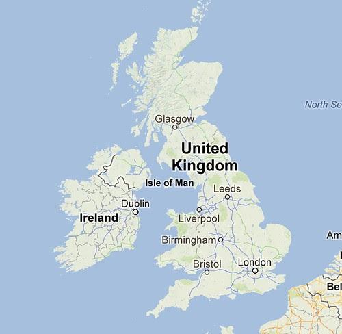 Google mapview UK