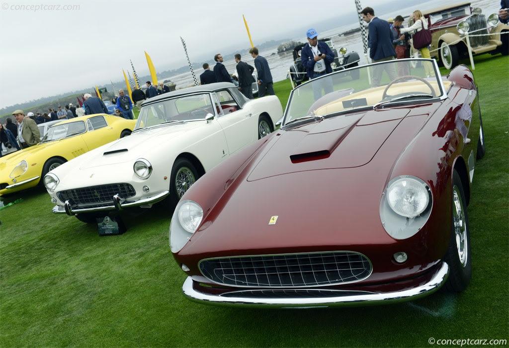 1957 Ferrari 250 GT California at the Pebble Beach ...