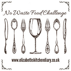 No Waste Food Challenge logo 2b