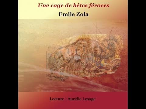 Une cage de bêtes féroces, Emile Zola