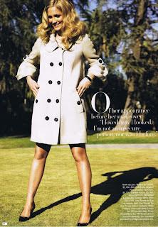 Ashlee Simpson in Harper's Bazaar May 2007 pictures