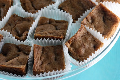 Chewy, Chunky Blondies - Tuesdays with Dorie