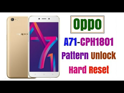 Oppo A71 (CPH1803) Format Patrn & Frp Remove UMT Tool