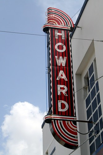 howard theatre neon sign