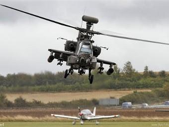 Longbow Apache AH1 армейской авиации Великобритании. Фото с сайта flightglobal.com