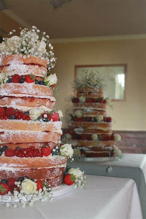 4 tier (triple layer) Victoria sponge Wedding cake or this