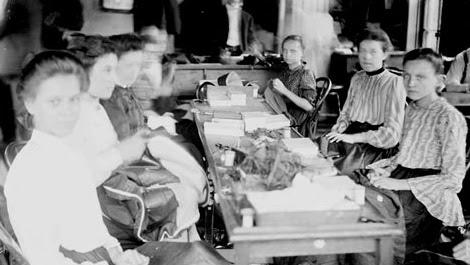 סדנאת יזע בשיקגו 1903, יהדות ארה