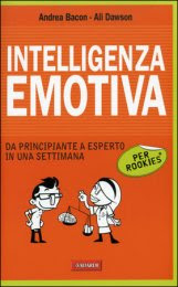 Intelligenza Emotiva per Rookies