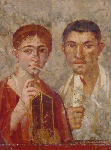 Frescoes from the Villa di Guilia Felice in Pompeii Roman 1st century CE (13)