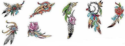 Feather Tattoo Meaning Ideas