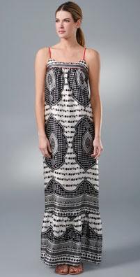 Twelfth St. by Cynthia Vincent Long Ruffle Dress