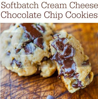 Softbatch Cream Cheese Chocolate Chip Cookies from Averie Cooks image