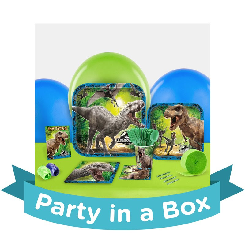 Jurassic World Party in a Box