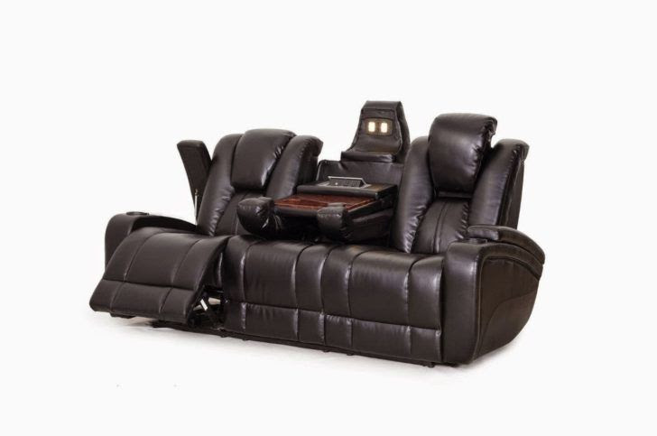 Finest Sectional sofas with Recliners and Cup Holders ...