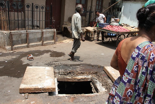 the manhole .. if you accidentally fall into it  the municipality will call you asshole by firoze shakir photographerno1