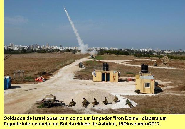 Sistema Iron Dome.