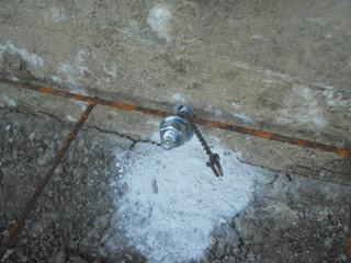 Anchor Bolt to Root Cellar/Storm Shelter