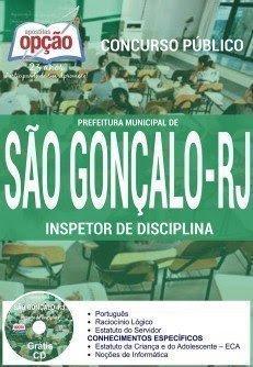 Apostila Prefeitura de São Gonçalo, Inspetor de Disciplina.