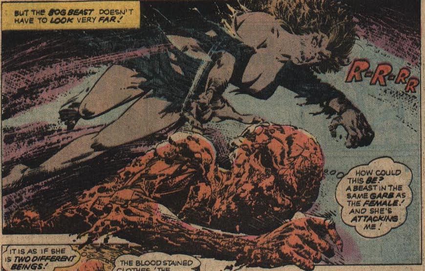 Atlas Comics' Bog Beast from Weird Tales of the Macabre #3